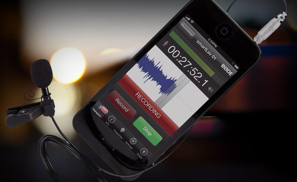 Micrófonos Rode para Teléfono o Tablet
