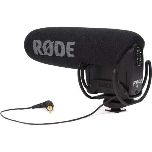Micrófono Rode VideoMic Pro con suspensión Rycote