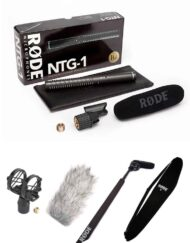 Kit de Audio para Cine, Vídeo y TV - Rode NTG1