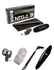 Kit de Audio para Cine, Vídeo y TV - Rode NTG2